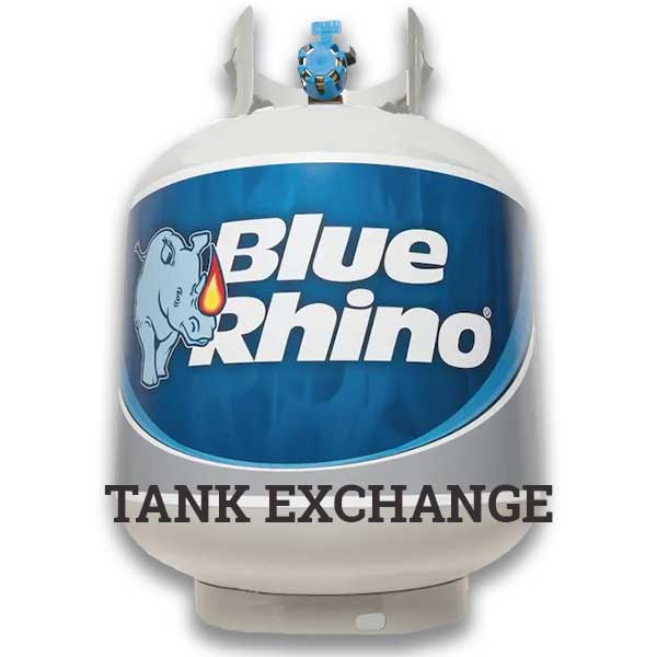 Blue Rhino Propane Tank - Exchange